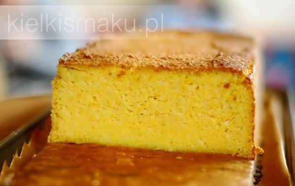 Pomarańczowo - migdałowe ciasto