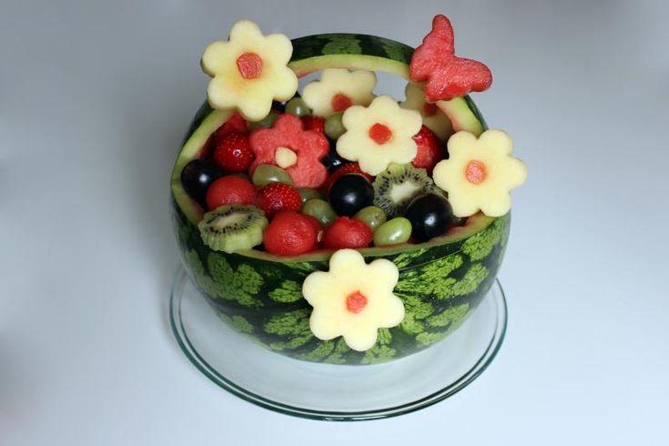 Kreatives obst gem se kinder 3007949899 essen - Obst und gemuseplatte fur kindergarten ...