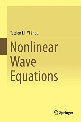 Nonlinear Wave Equations (Series in Contemporary Mathematics) free ebook