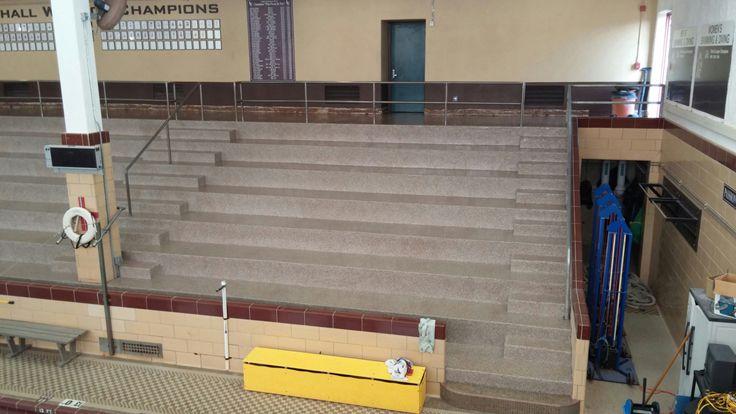 Slip Resistant Flooring For Stairways Hallways Catwalks