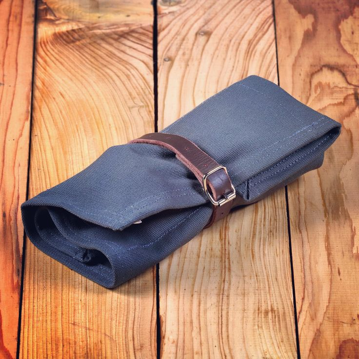 Made To Order Canvas Tool Roll - Small/Bike - W & B
