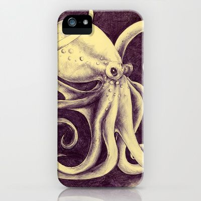 Octopus iPhone & iPod Case by Anna Tromop - $35.00
