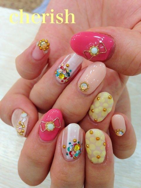 20 best nail art japonais images on Pinterest   Japanese nail art ...