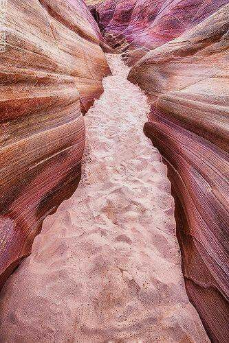 This is the Pink Canyon from the Valley of Fire, Nevada...don't you just love it?