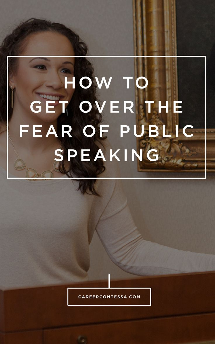 Follow these 5 steps to get over your fear of public speaking.