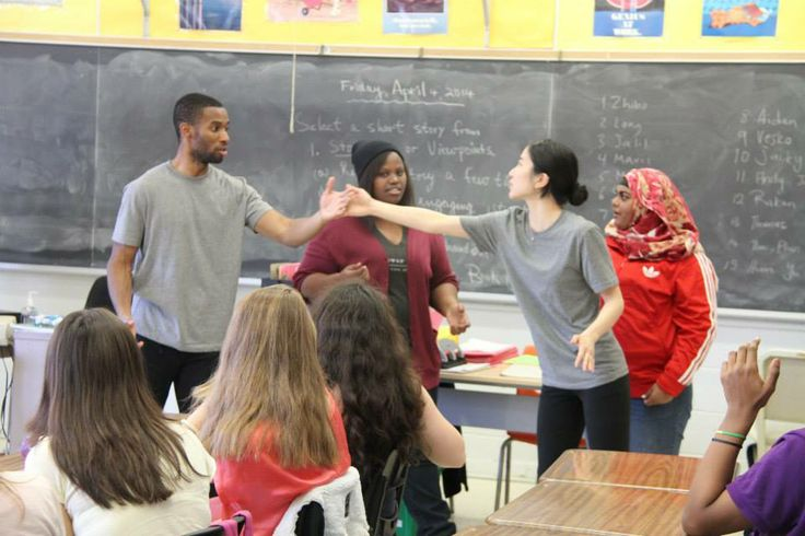 #ShakespeareAlive performed for the students at #CentralCommerceCollegiate! #2014 #Education #Interactive #Tour #Theatre #Actor #Educator #Toronto #GTA #Shakespeare