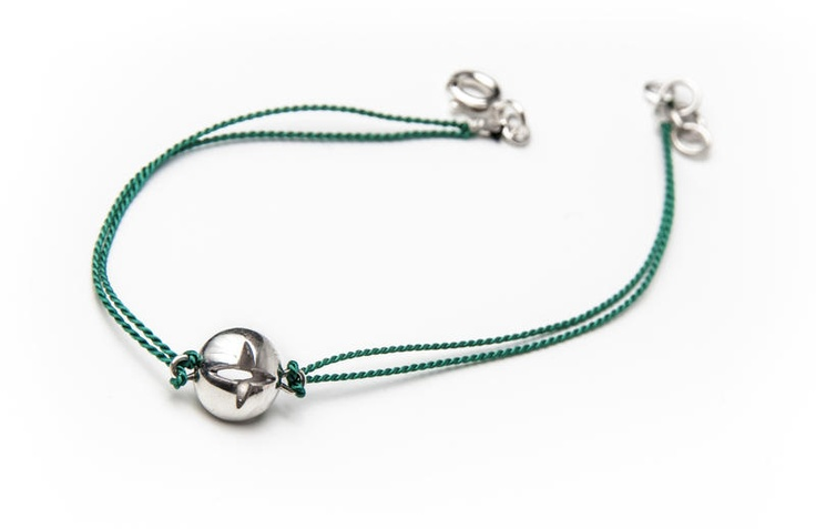 Green Charm Star Bracelet   Designercraft.eu