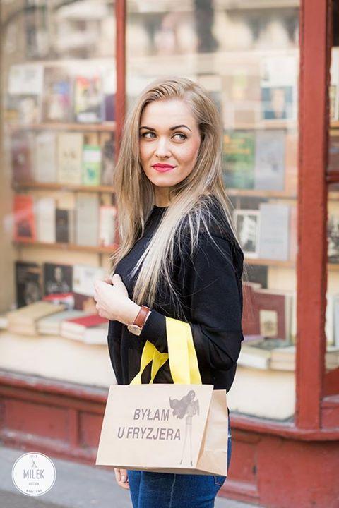 #Koloryzacja - delikatne naturalne #ombre - długie włosy - #fryzura - byłam u fryzjera