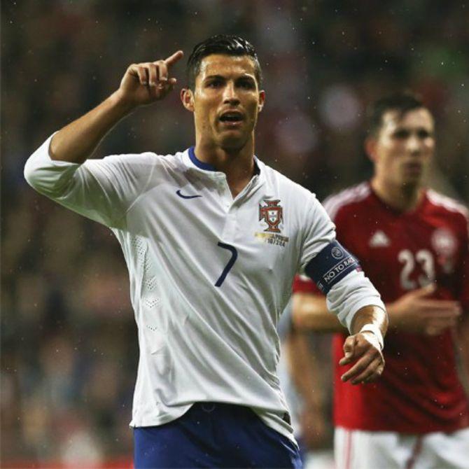 Cristiano Ronaldo vs Armenia (Eliminatorias EuroCopa).  #Phenomenal #Eurocopa2016 #CristianoRonaldo #Portugal