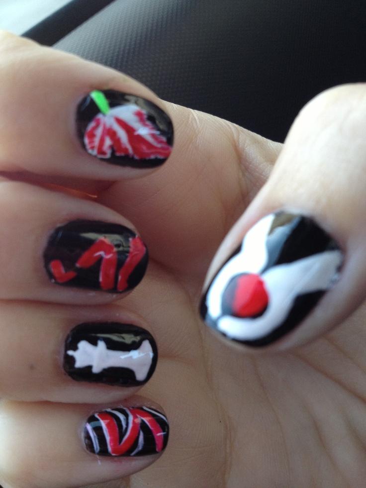19 best twilight nails images on pinterest twilight saga nail my twilight saga nail art prinsesfo Gallery