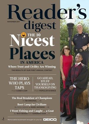 Reader's Digest Magazine | 11/2017 Cover