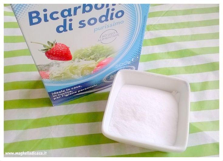 10 usi super efficaci del bicarbonato di sodio per la casa e l'igiene