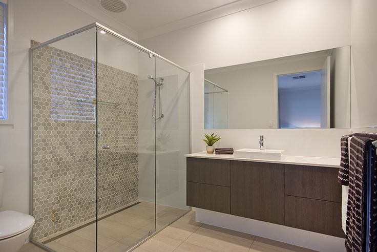 ensuite/bathroom A rossdale homes display home design.