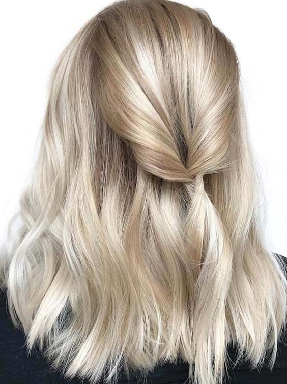 35 Stunning Shoulder Length Blonde Hairstyles in 2018