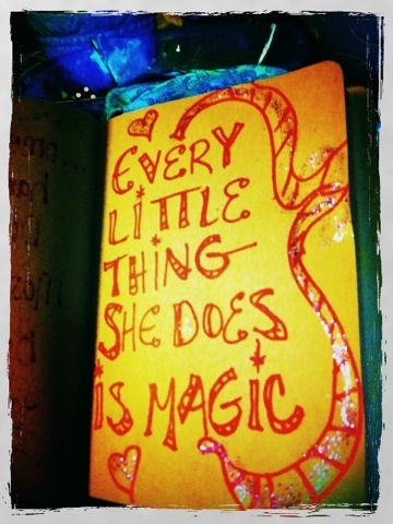 Every little thing she does is magic ~ The Police
