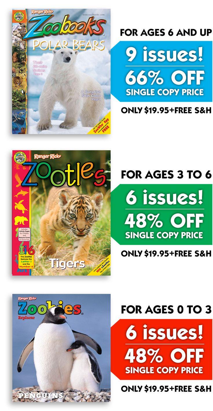 Zoobooks.com Promo Codes December 2018