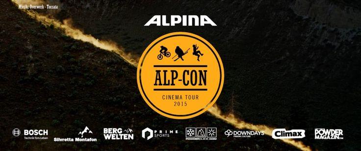 Alp-Con CinemaTour 2015 - Trailer #AlpCon #Freeride #MovieNight #FilmNacht #Ski #Mountainbike #Klettern #Alpin #Berge