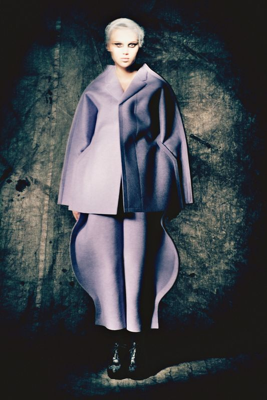 An Empire Of Intuition Anais Pouliot by Paolo Roversi for Purple Fashion No.18 F/W 12/13