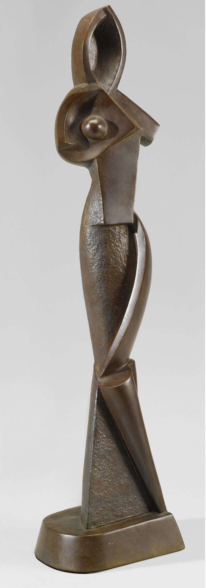 alexander archipenko 1887 1964 geometric statuette 1914 68 9 cm pinterest. Black Bedroom Furniture Sets. Home Design Ideas