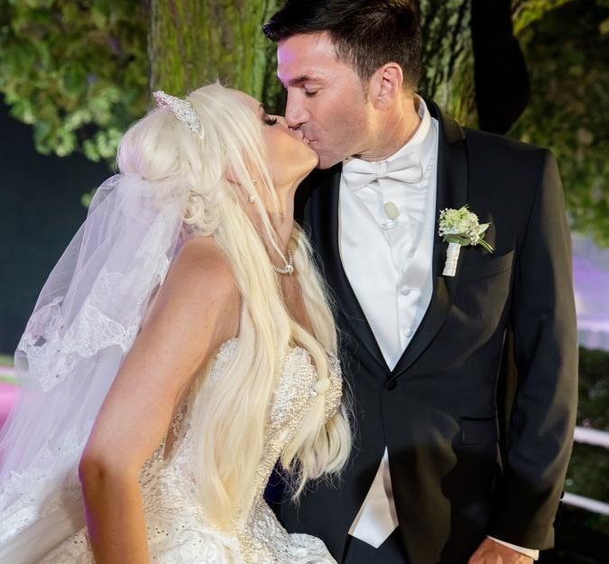 Bei ihrer Hochzeit mit Lucas Cordalis trank Daniela Katzenberger keinen Alkohol.
