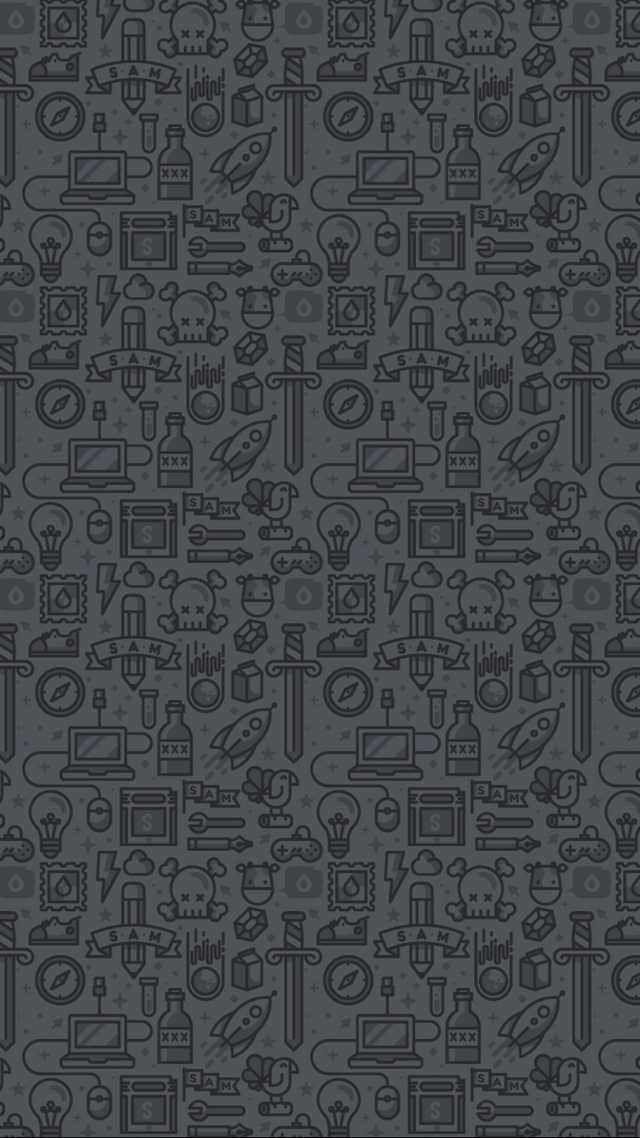 Wallpaper Wa Iphone Dark Mode