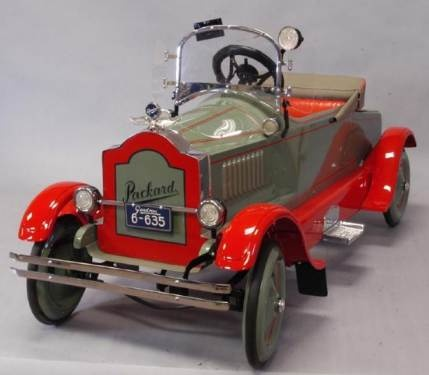 packard gendron pedal car unique toyskids carspedal