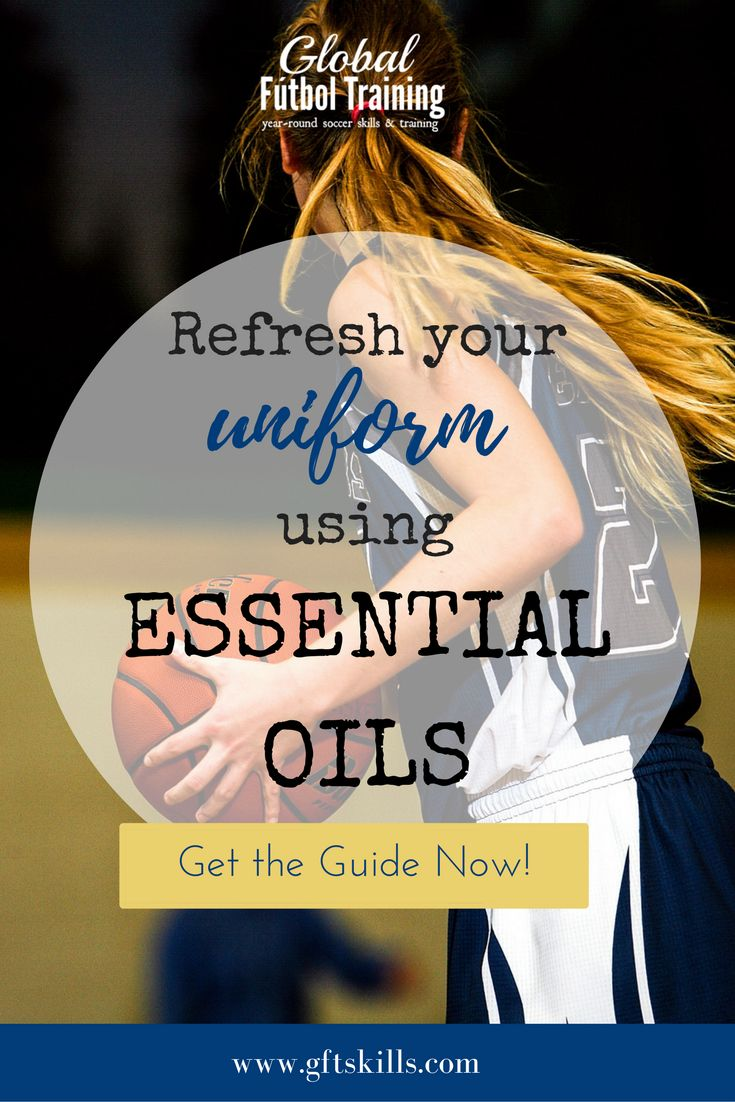 Refresh your uniform using essential oils. Regardless of what sport you or your child may play, this quick and simple essential oil recipe will help uniforms smell fresh and new in no time. Perfect for all sports including football, soccer, tennis, baseball, hockey, and lacrosse.