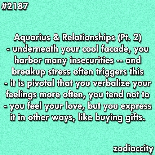 how to know aquarius man in love