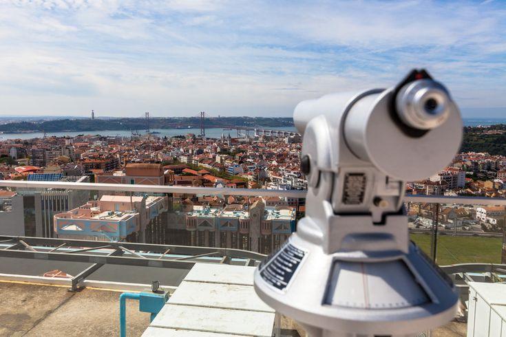 Lisboa a 360º no novo miradouro das Amoreiras