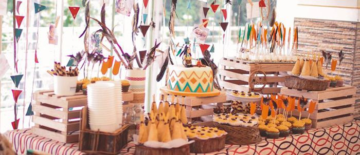 Little Indian Themed Birthday Party