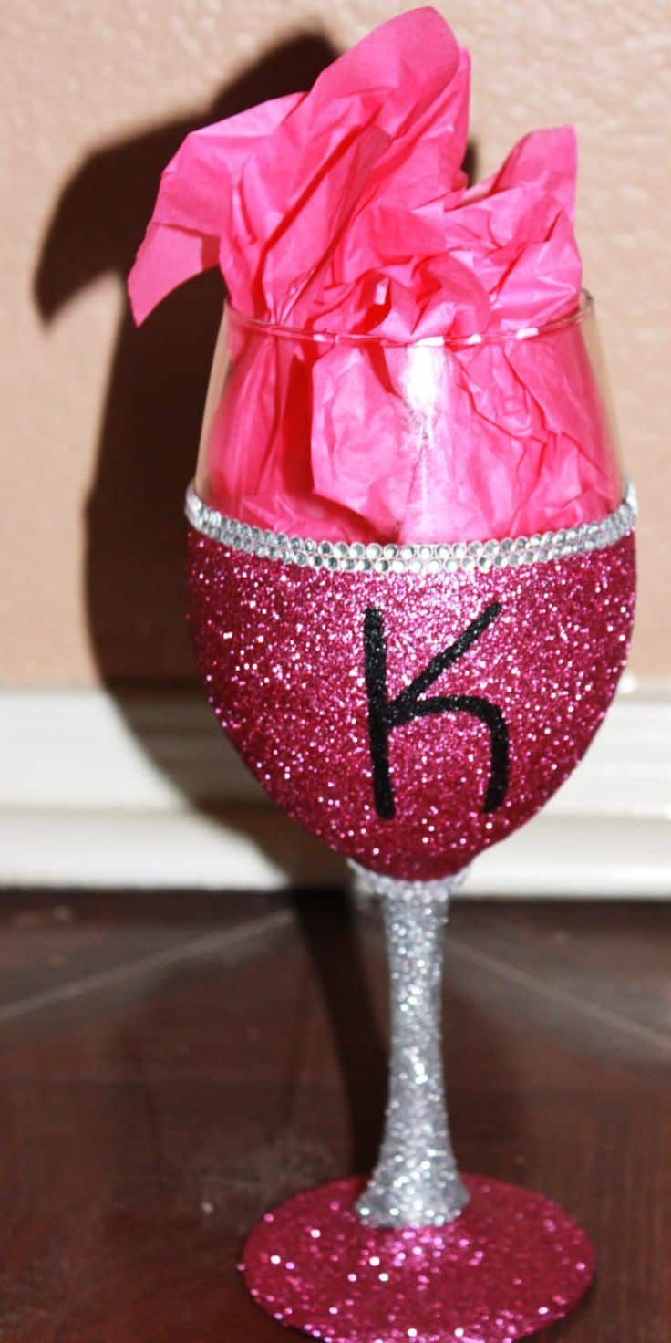 Wedding Party Glittered Glasses Fancy Glasses Wedding Wine Glasses Diy Glasses