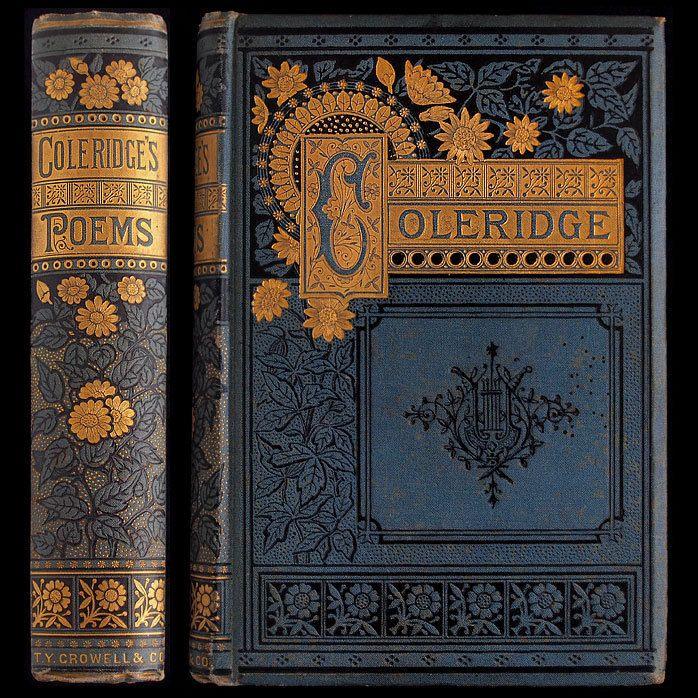 1885 Samuel Taylor Coleridge Poems Illustrated Victorian Fine Binding Engravings | eBay