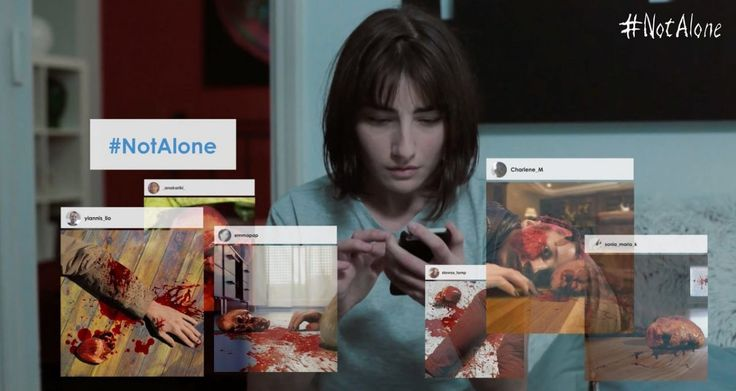To #NotAlone, είναι μία πεντάλεπτη ταινία τρόμου των Σωτήρη Πετρίδη και Δημήτρη Τσακαλέα που μόλις έκανε διαδικτυακή πρεμιέρα και κατακτάει το ελληνικό ίντερνετ! Η ιστορία της ταινίας αφορά μια... Περισσότερα στο horrormovies.gr