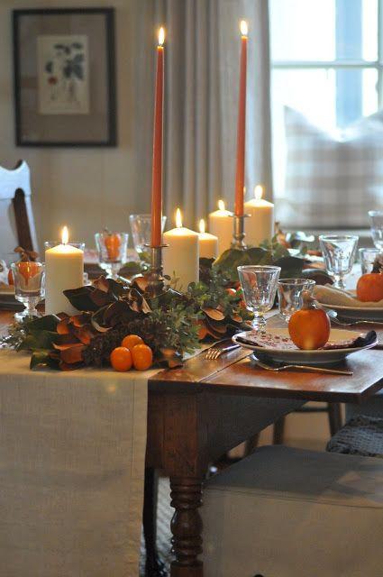 NINE + SIXTEEN: favorite thanksgiving tables & recipes