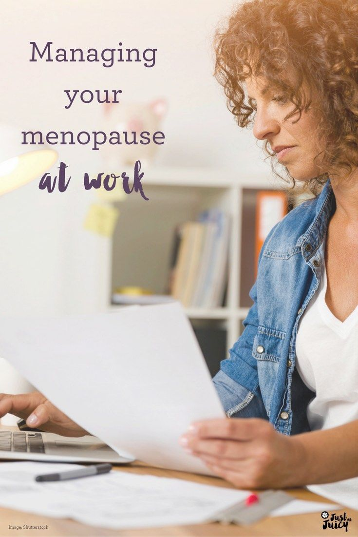 Managing your menopause at work via @melkettle