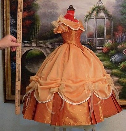 Truly Victorian :: DemiFashions :: Demi Patterns :: Demi 1860s Ball Gown