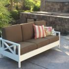 Ana White | Simple White Outdoor Sofa - DIY Projects