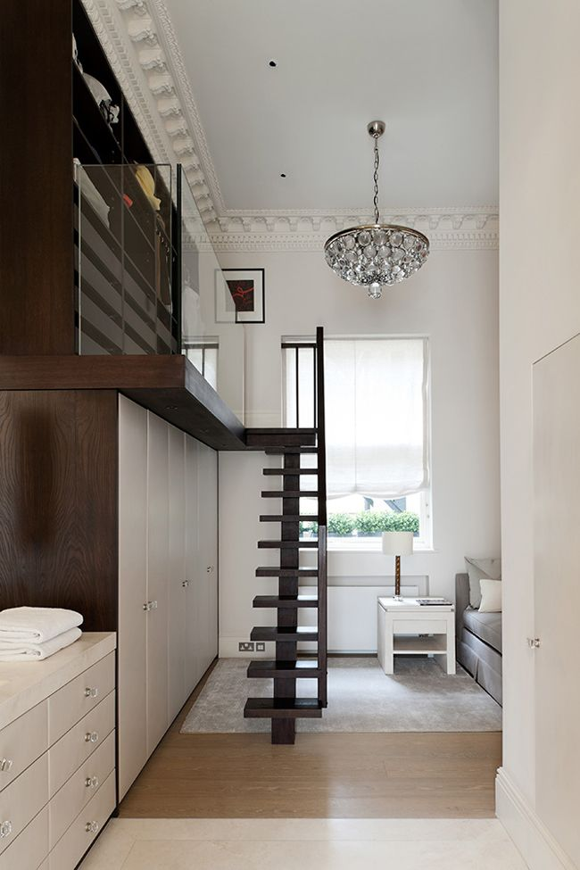 interesting small space layout | todhunter earls lofty dressing area