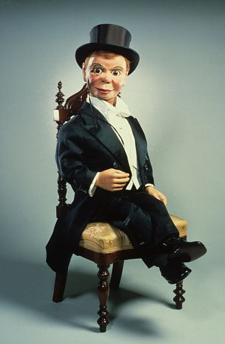 Charlie McCarthy Puppet, c. 1922 via @National Museum of American History, Smithsonian