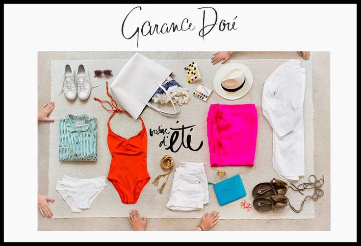 Garance Dore features our Panama Hat #sensistudio www.sensistudio.com