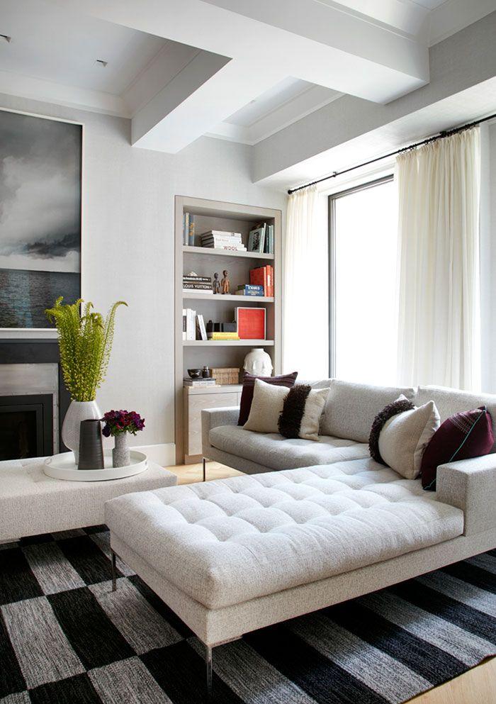 Naturalno Stilnyj Interer Apartamentov V Nyu Jorke Foto Idei Dizajn Craftsman Living Rooms Classic Living Room Living Room Decor Pictures