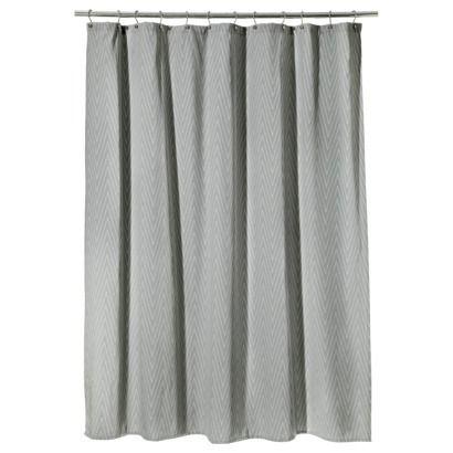 Chevron shower curtain gray target 1st floor bathroom