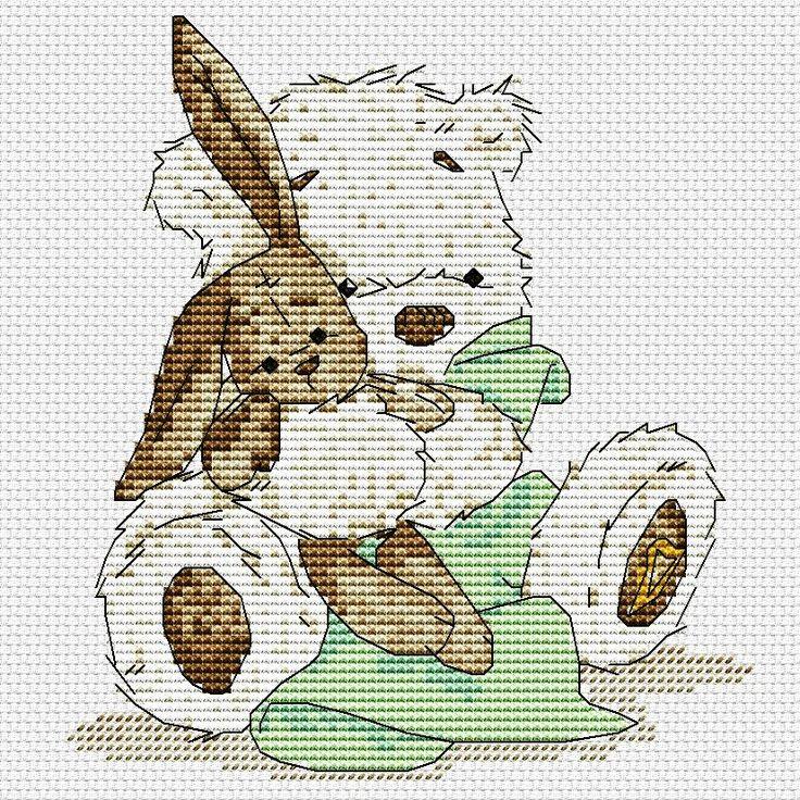 этот город, рисунки медвежонок с зайчиком едят его неправильное