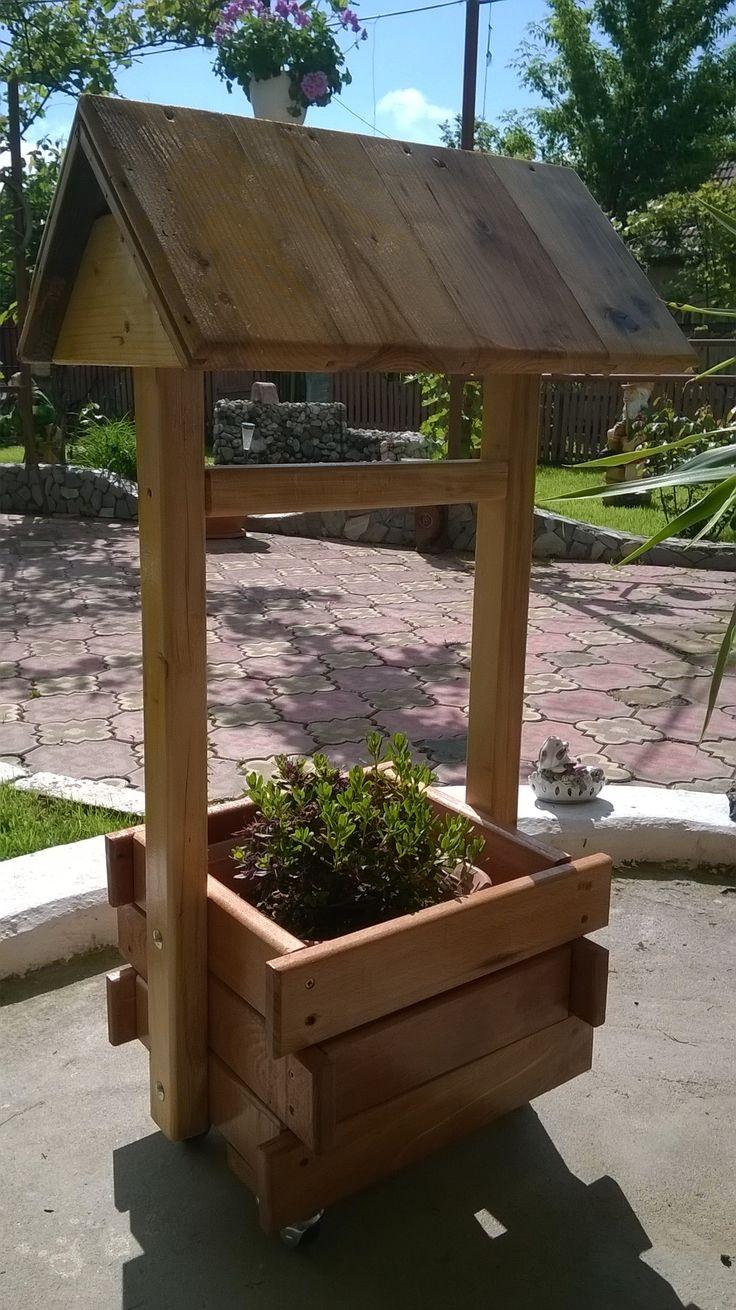 Support backyard planter shaped fountain4
