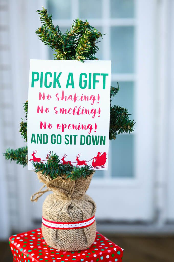 Make this year's gift exchange the best of all with these seven great tips and the free printable gift exchange game idea!