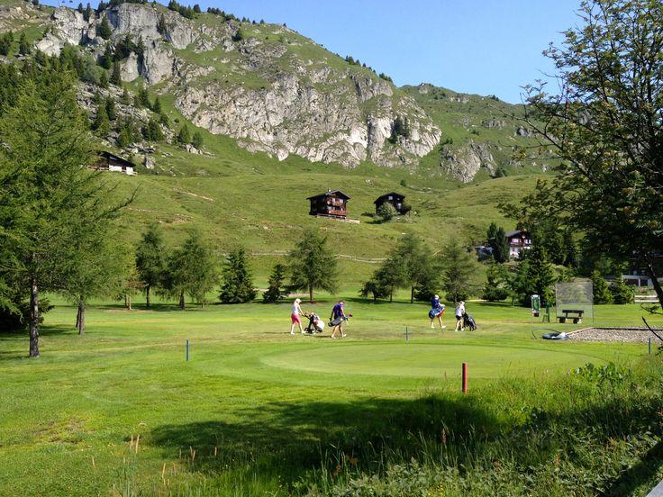 Absinthe La Reine  in a Golf tournament - Swiss Alps. www.absinthe-lareine.ch   #absinthe #suisseabsinthe #golf #swissabsinthe #absinthedistribution #originalabsinthe #valdetravers #absinthelareine