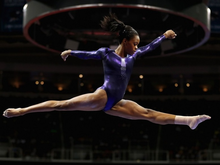 Gabby Douglas-She showed every young African American girl that it is possible to dream big, live for the Lord, and be black! lol She is amazing!