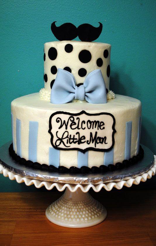 mustache shower mustache baby shower cake welcome little man