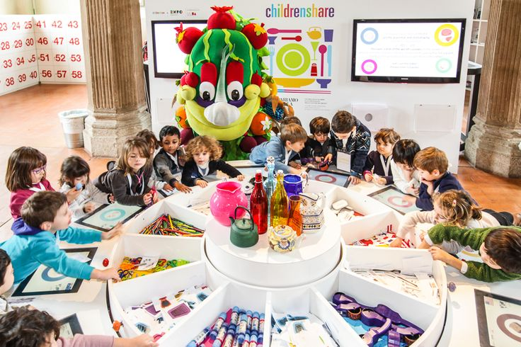 """""""Everyday lots of kids come to MUBA and have fun playing inside #Childrenshare, the special project made for #Expo2015. Come and join us until 31 October 2015!"""" - #Foody"""