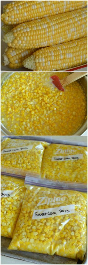 Sweet Freezer  Corn is and easy way to preserve summer to use throughout the winter months!